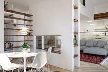 Modern Interior - Dining Room Plan #1076-2