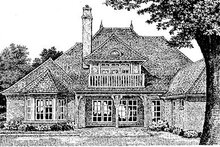 Dream House Plan - European Exterior - Other Elevation Plan #310-554