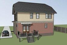 Craftsman Exterior - Rear Elevation Plan #79-297