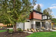 Contemporary Style House Plan - 5 Beds 4.5 Baths 4039 Sq/Ft Plan #1066-14 Exterior - Other Elevation