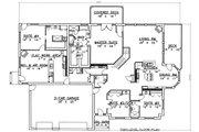 Modern Style House Plan - 5 Beds 4.5 Baths 6550 Sq/Ft Plan #117-524 Floor Plan - Main Floor Plan