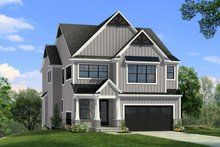 Architectural House Design - Farmhouse Exterior - Front Elevation Plan #1057-32