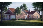 Farmhouse Style House Plan - 4 Beds 2 Baths 2029 Sq/Ft Plan #57-178 Exterior - Rear Elevation