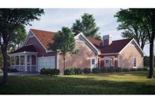 House Plan Design - Farmhouse Exterior - Rear Elevation Plan #57-178