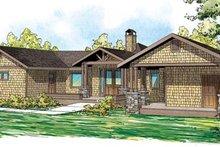 Craftsman Exterior - Front Elevation Plan #124-861