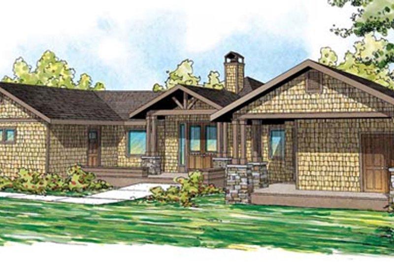 Home Plan - Craftsman Exterior - Front Elevation Plan #124-861