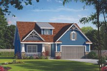 Home Plan - Cottage Exterior - Front Elevation Plan #20-2315
