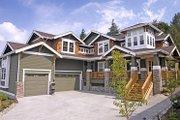 Craftsman Style House Plan - 4 Beds 3 Baths 4450 Sq/Ft Plan #132-170