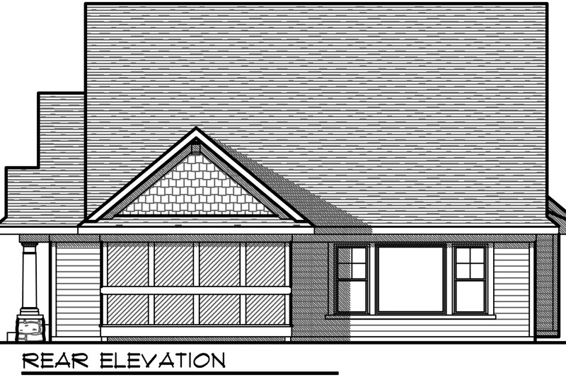 Ranch Photo Plan #70-1030 - Houseplans.com