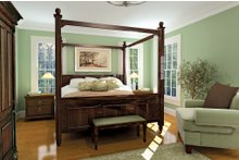 House Plan Design - Country Interior - Master Bedroom Plan #929-18