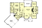 Farmhouse Style House Plan - 3 Beds 2.5 Baths 2534 Sq/Ft Plan #430-166 Floor Plan - Main Floor Plan