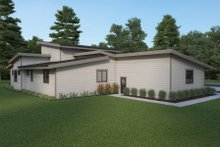 Contemporary Exterior - Other Elevation Plan #1070-115
