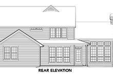 Home Plan - Craftsman Exterior - Rear Elevation Plan #48-391