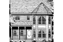 Farmhouse Exterior - Other Elevation Plan #3-197