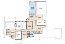 European Floor Plan - Upper Floor Plan Plan #923-112