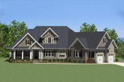 Traditional Style House Plan - 3 Beds 2.5 Baths 2404 Sq/Ft Plan #898-16 Exterior - Front Elevation