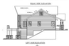 Home Plan - Bungalow Exterior - Rear Elevation Plan #117-542