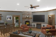 Craftsman Style House Plan - 3 Beds 3 Baths 1989 Sq/Ft Plan #56-717 Interior - Other