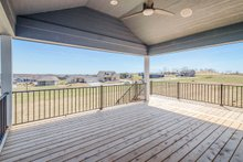 Ranch Exterior - Covered Porch Plan #70-1484