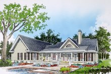 Home Plan - Farmhouse Exterior - Rear Elevation Plan #929-1046