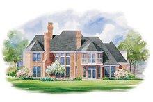 Home Plan - European Exterior - Rear Elevation Plan #20-1181