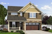 Traditional Style House Plan - 3 Beds 2.5 Baths 2392 Sq/Ft Plan #48-501 Exterior - Front Elevation