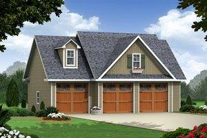 Craftsman Exterior - Front Elevation Plan #21-350