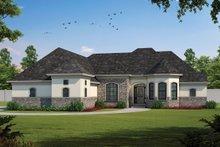 Dream House Plan - European Exterior - Front Elevation Plan #20-981