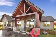 Craftsman Style House Plan - 3 Beds 2.5 Baths 2297 Sq/Ft Plan #1070-15 Exterior - Rear Elevation