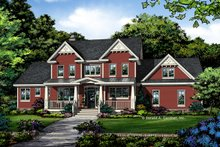 Architectural House Design - Farmhouse Exterior - Front Elevation Plan #929-1039