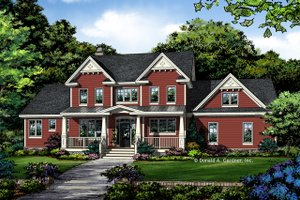 Farmhouse Exterior - Front Elevation Plan #929-1039