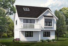 Architectural House Design - Country Exterior - Front Elevation Plan #47-1079