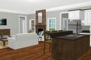 Country Style House Plan - 3 Beds 2 Baths 1716 Sq/Ft Plan #44-196 Interior - Other