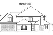 Traditional Style House Plan - 4 Beds 4.5 Baths 5064 Sq/Ft Plan #490-17 Exterior - Other Elevation