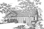 Craftsman Style House Plan - 0 Beds 0 Baths 780 Sq/Ft Plan #124-658 Exterior - Front Elevation