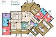 European Style House Plan - 3 Beds 3 Baths 3267 Sq/Ft Plan #63-408 Floor Plan - Main Floor Plan