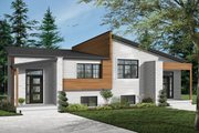 Modern Style House Plan - 6 Beds 4 Baths 3580 Sq/Ft Plan #23-2673 Exterior - Front Elevation