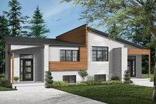 Dream House Plan - Modern Exterior - Front Elevation Plan #23-2673