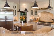 Country Style House Plan - 3 Beds 3.5 Baths 3528 Sq/Ft Plan #930-10 Interior - Kitchen