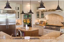 Country Interior - Kitchen Plan #930-10