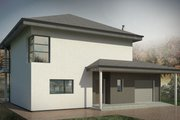 Contemporary Style House Plan - 3 Beds 2 Baths 1797 Sq/Ft Plan #906-18