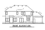 Craftsman Style House Plan - 4 Beds 3.5 Baths 2540 Sq/Ft Plan #20-2328 Exterior - Rear Elevation
