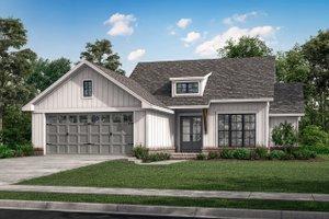 Farmhouse Exterior - Front Elevation Plan #430-253
