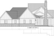 Country Style House Plan - 3 Beds 3.5 Baths 3947 Sq/Ft Plan #928-333 Exterior - Other Elevation