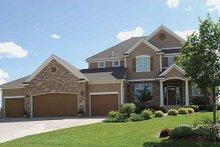 Craftsman Exterior - Front Elevation Plan #320-486