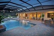 Mediterranean Style House Plan - 4 Beds 3 Baths 2953 Sq/Ft Plan #938-90