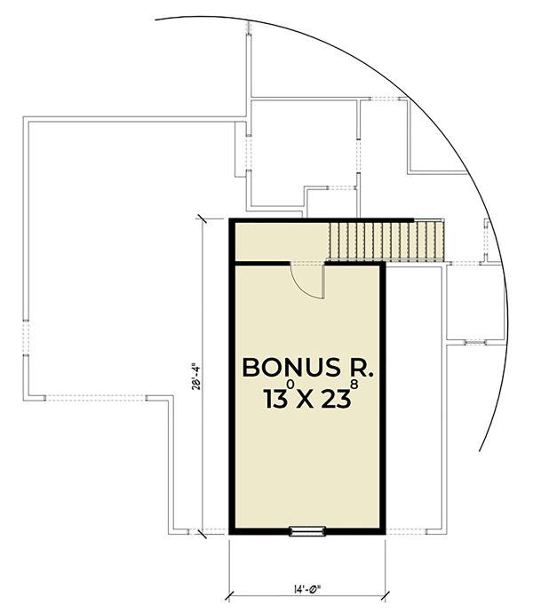 Home Plan - Craftsman Floor Plan - Upper Floor Plan #1070-38