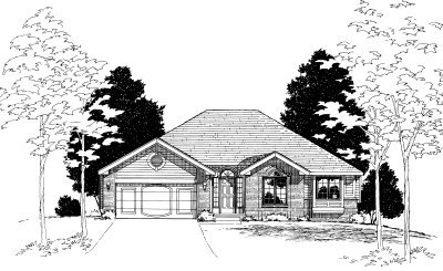 Traditional Exterior - Front Elevation Plan #20-154