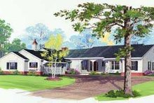 House Design - Traditional Exterior - Front Elevation Plan #72-159