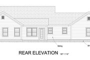 Traditional Style House Plan - 4 Beds 2.5 Baths 1808 Sq/Ft Plan #513-2067 Exterior - Rear Elevation